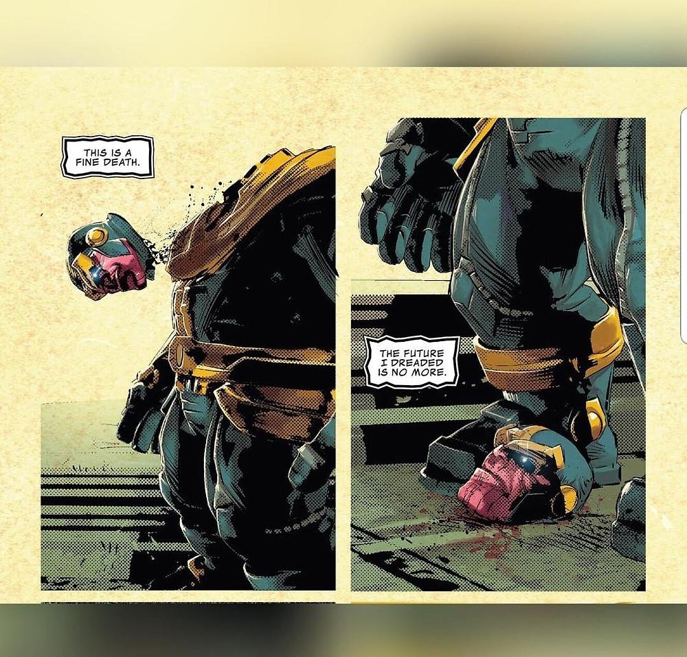 Morte de Thanos