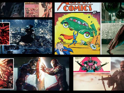 10 cenas iguais dos quadrinhos – Parte 1