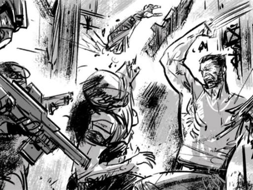 Veja Storyboard de Logan