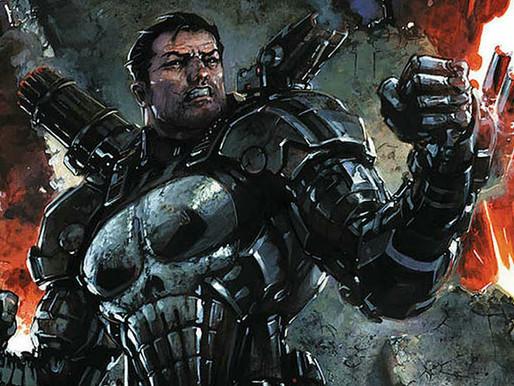 Justiceiro com armadura do War Machine