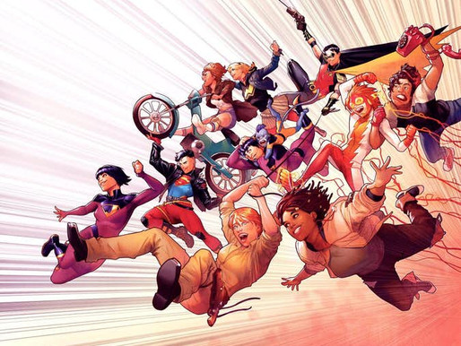 Wonder Comics reunirá os jovens heróis da DC