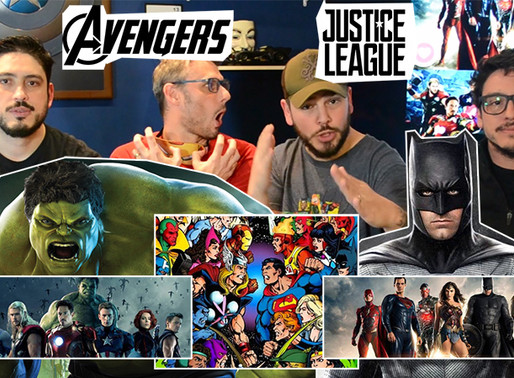 Vingadores vs Liga da Justiça   Fusi Kombat