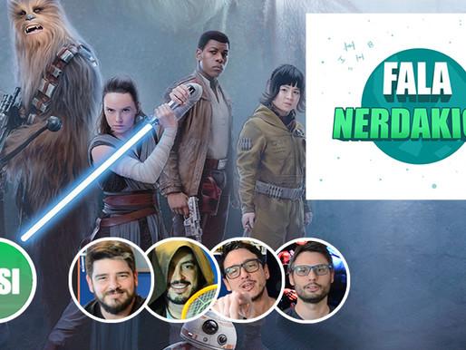Star Wars: Os Ultimos Jedi | Fala Nerdakios!