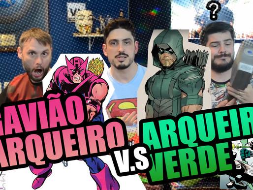 Gavião Arqueiro vs Arqueiro Verde | Fusi Kombat