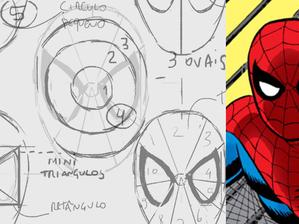 Aprenda a desenhar a máscara do Homem Aranha | Fusi Academy
