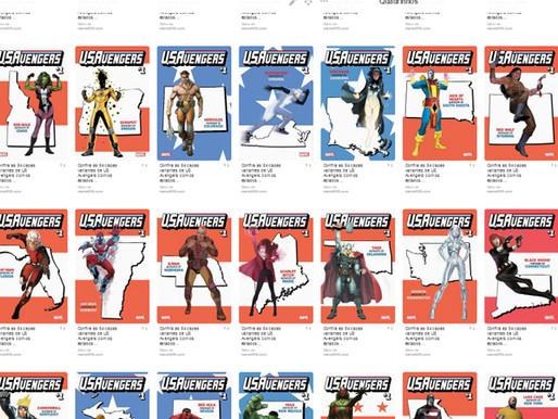 54 capas para US Avengers