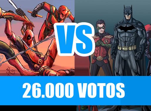 Red Team vs Batman Team   Fusi Kombat