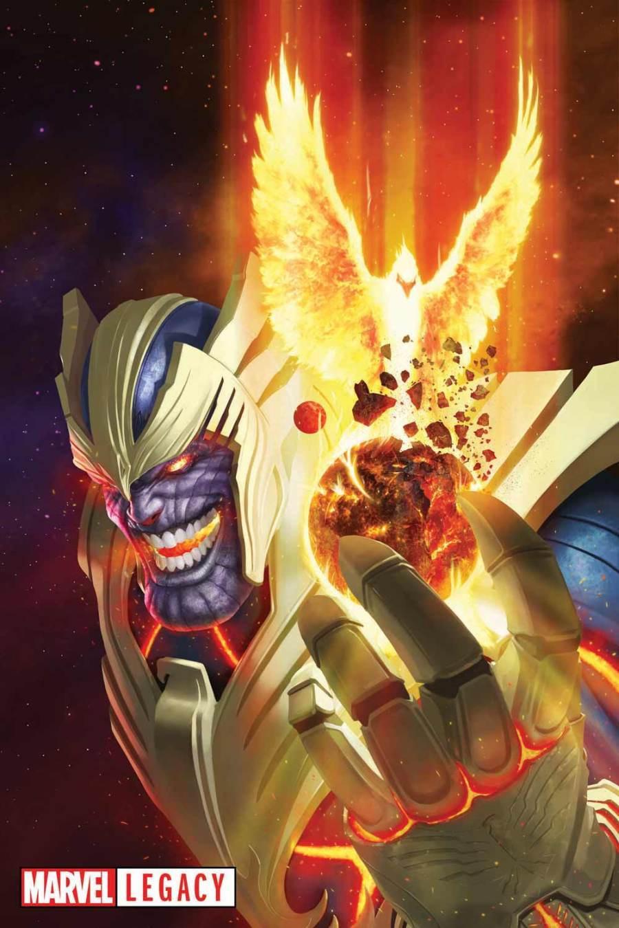 Thanos como Fênix