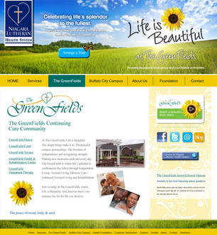 The Greenfields Web-redesign