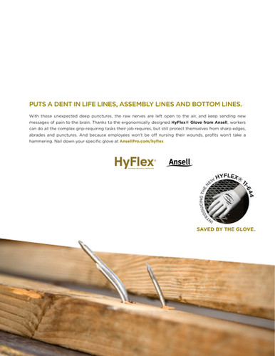 Ansell HyFlex 11-644 Safety Glove
