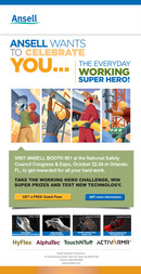 Ansell Industrial e-Blast for NSC show