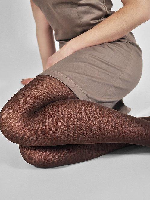 Emma Brown Leopard Stockings