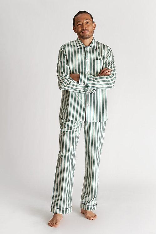 Henry Pyjama Set - Regimental Stripe