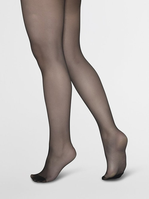 Elin Sheer Black Stockings