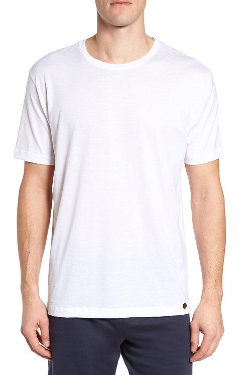 Mens Hanro Living T-shirt White