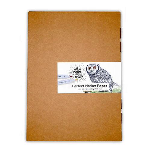 Perfect Marker Paper Din A3 300g/m2 30 sheet