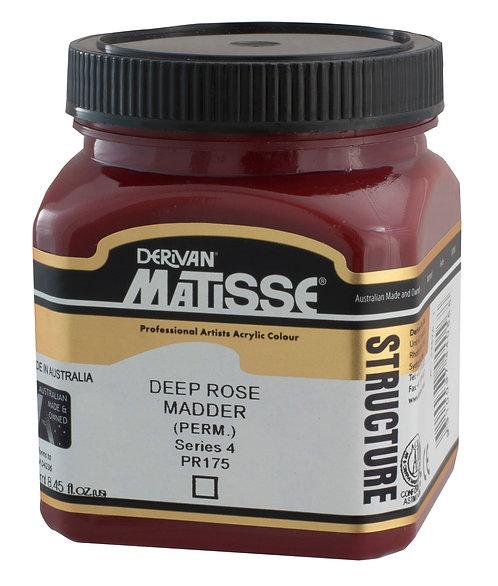 STRUCTURE DEEP ROSE MADDER