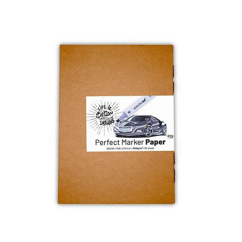 Perfect Marker Paper Din A5 300g/m2 30 sheet