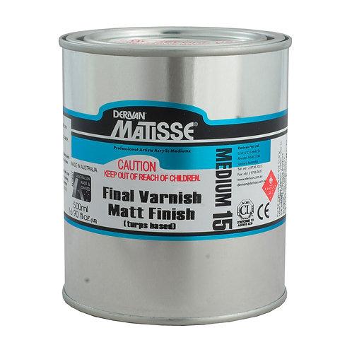 MATISSE MEDIUM MM15 MATT VARNISH T/B