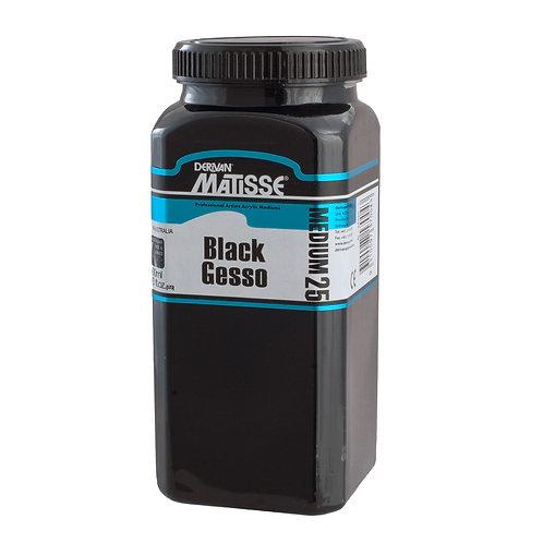 MATISSE MEDIUM MM25 BLACK GESSO