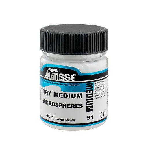 DRY MEDIUM MICROSHPHERES