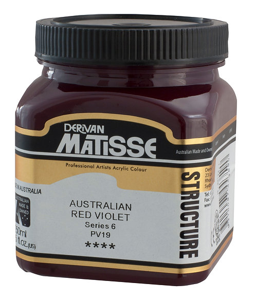 STRUCTURE AUSTRALIAN RED VIOLET