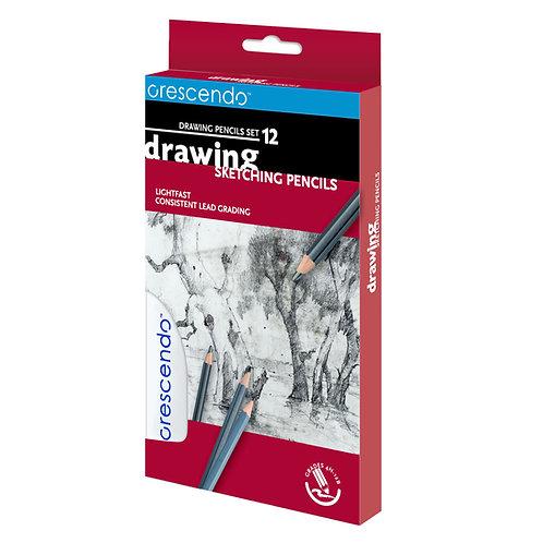 Drawing Pencils Set 12