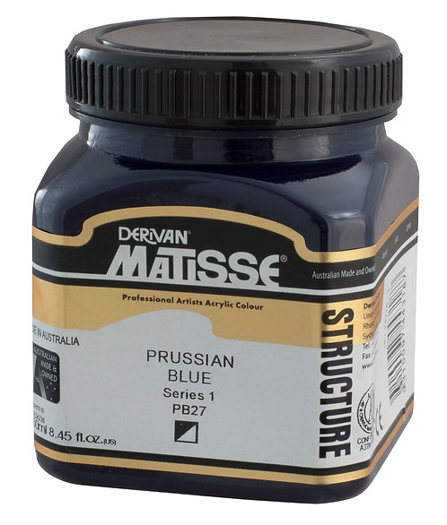 STRUCTURE PRUSSIAN BLUE