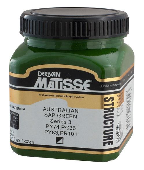 STRUCTURE AUSTRALIAN SAP GREEN