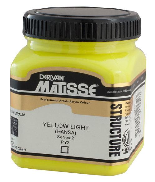 STRUCTURE YELLOW LIGHT HANSA