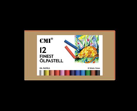 Wasservermalbare CMI Finest Ölpastell 12, 24, 36