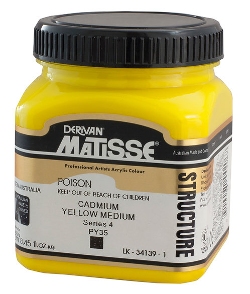 STRUCTURE CADMIUM YELLOW MED
