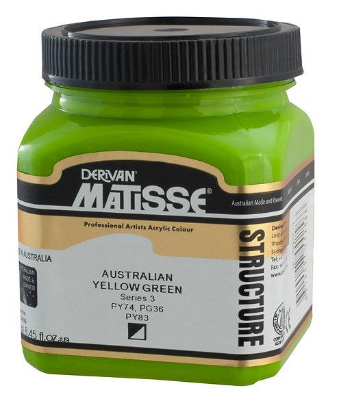 STRUCTURE AUSTRALIAN YELLOW GREEN