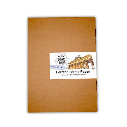 Perfect Marker Paper Din A4 300g/m2 30 sheet