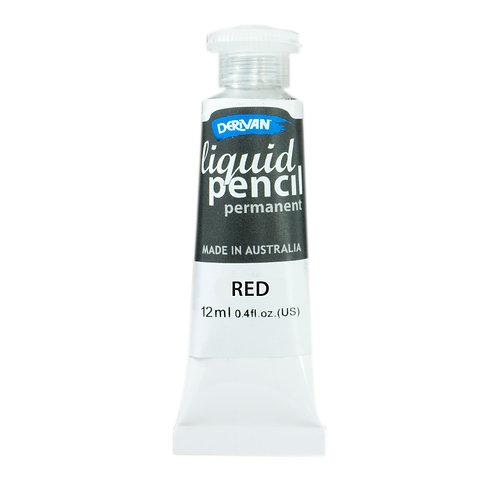 LIQUID PENCIL PERMANENT RED