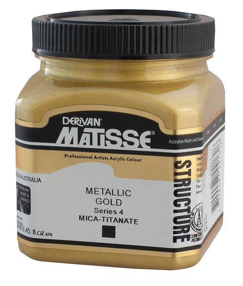 STRUCTURE METALLIC GOLD
