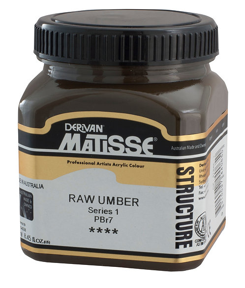 STRUCTURE RAW UMBER