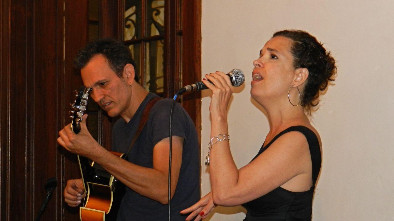 Laudares e Flávia Maria