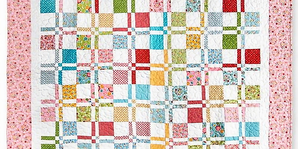 Disappearing Four Patch Quilting Class
