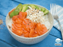 Sedaï Classic -delivery sushi bowls