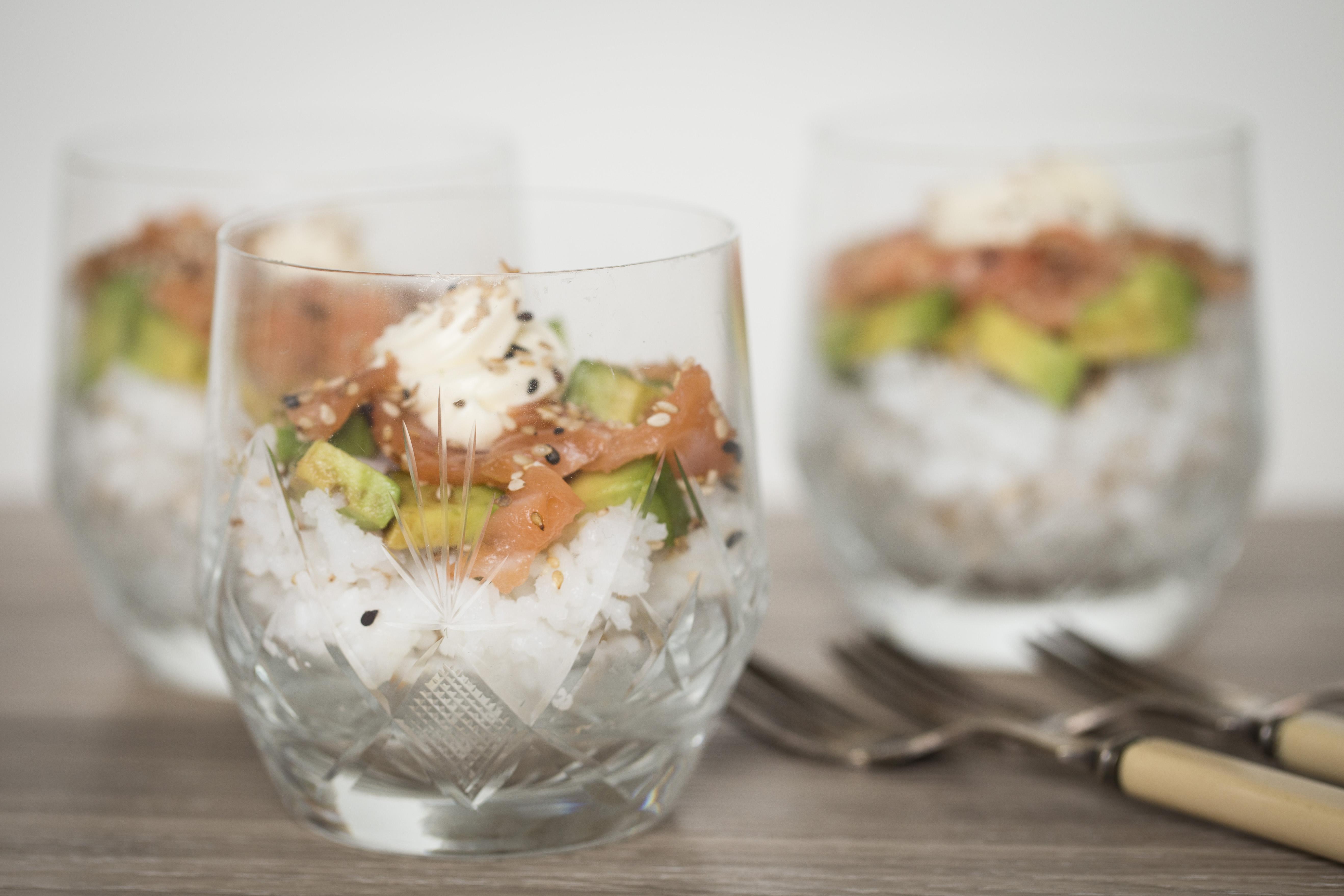 Catering de Sushi Bowls -