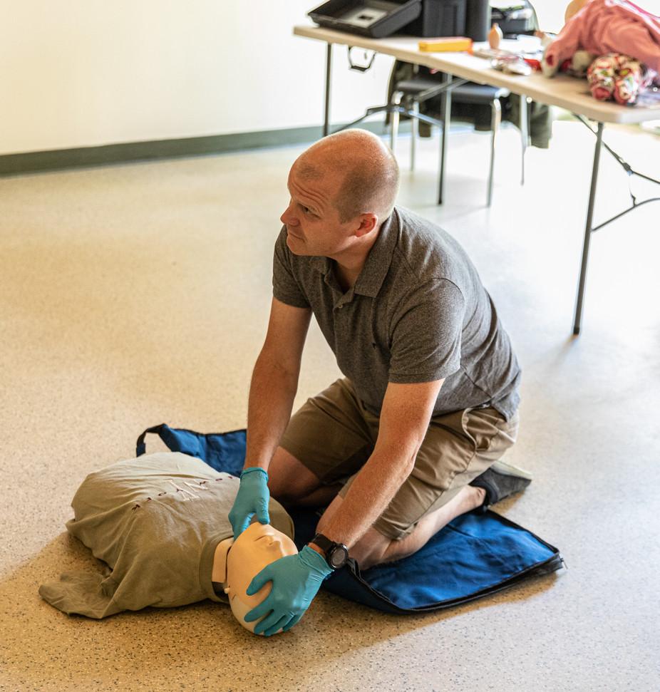 Formation premiers soins avec notre partenaire Sauvetage A.G