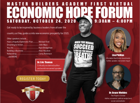 Dr. Eric Thomas Is Coming Virtually to Louisville