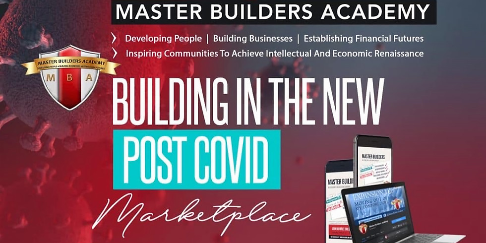 Building in the New Post COVID Marketplace