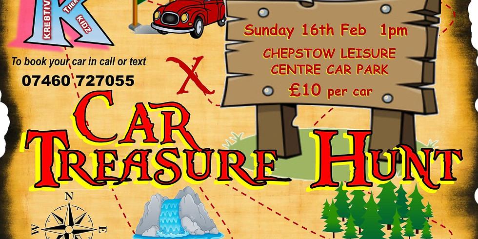 Car Treasure Hunt - Family Fundraiser!
