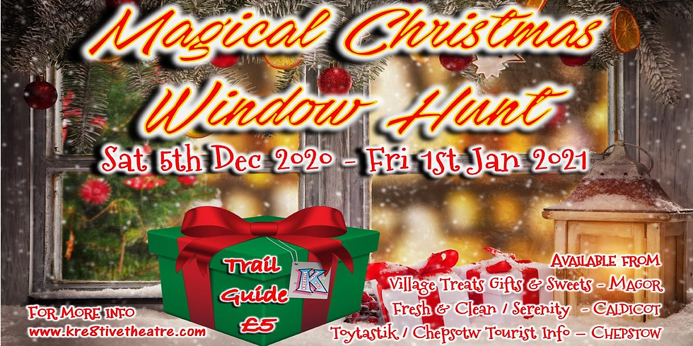 Online Map Magical Christmas Window Hunt!