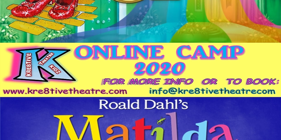 ONLINE MUSICAL THEATRE CAMP!