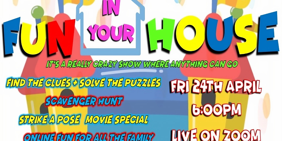 KRE8TIVE FUN (IN YOUR) HOUSE! FUNDRAISER