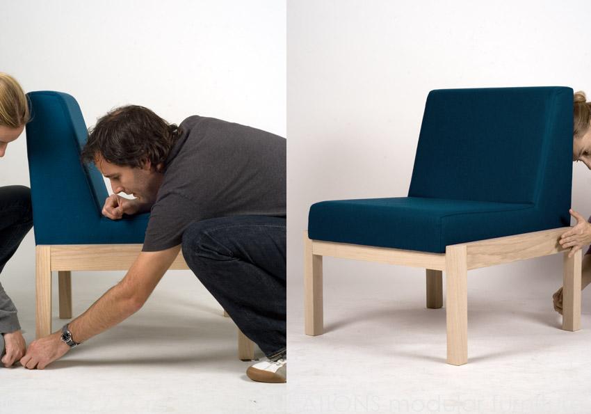 Re-Configurations modular furniture