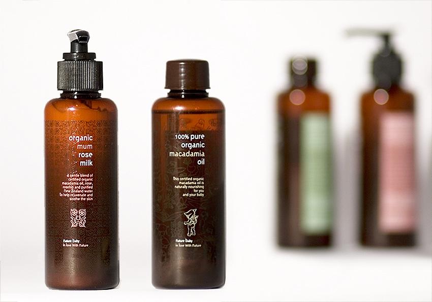 Organic skincare branding